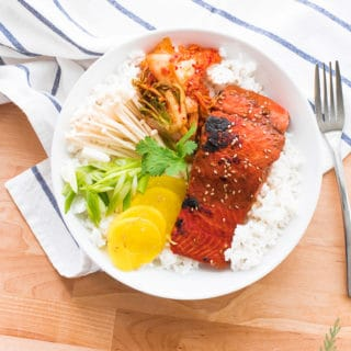 Miso-Ginger Salmon- Quick and Easy