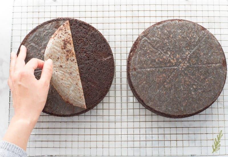 Sense & Edibility's Raspberry-Chocolate Ganache Torte