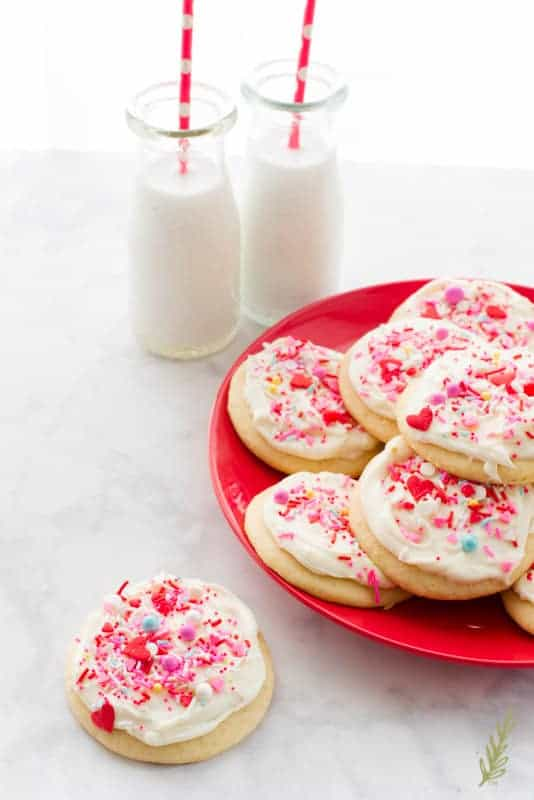 Sense & Edibility's Soft Sugar Cookies with Cream Cheese Frosting