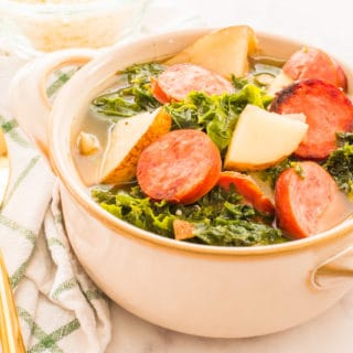 Sausage & Potato Stew with Kale
