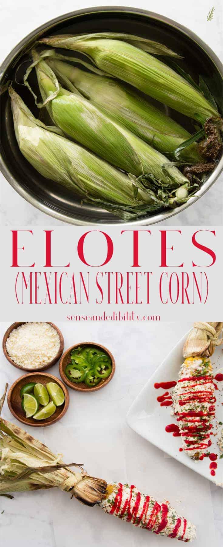 Sense & Edibility's Elotes (Mexican Street Corn) Pin