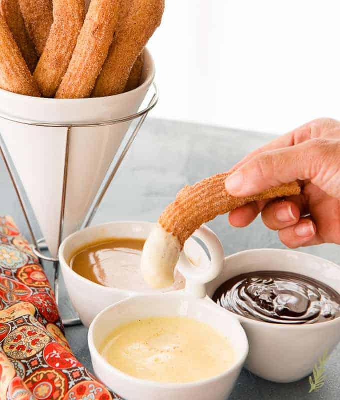 Sense & Edibility's Crème Anglaise (Warm Vanilla Bean Sauce)