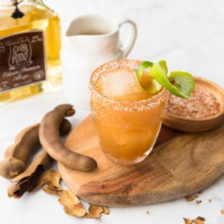 Tamarind Margarita with Añejo Tequila