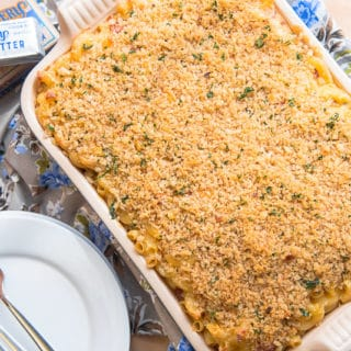 Ultimate Bacon-Jalapeño Mac and Cheese