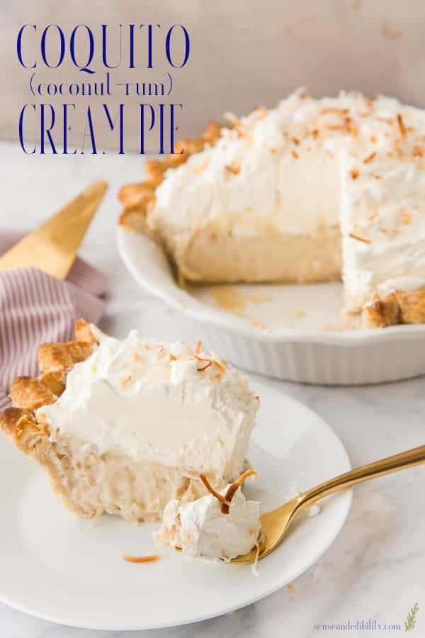 Coconut Rum Cream Pie Pin
