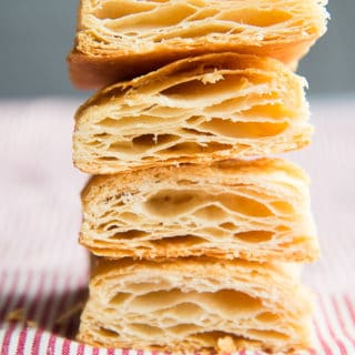 Puff Pastry Dough from Scratch