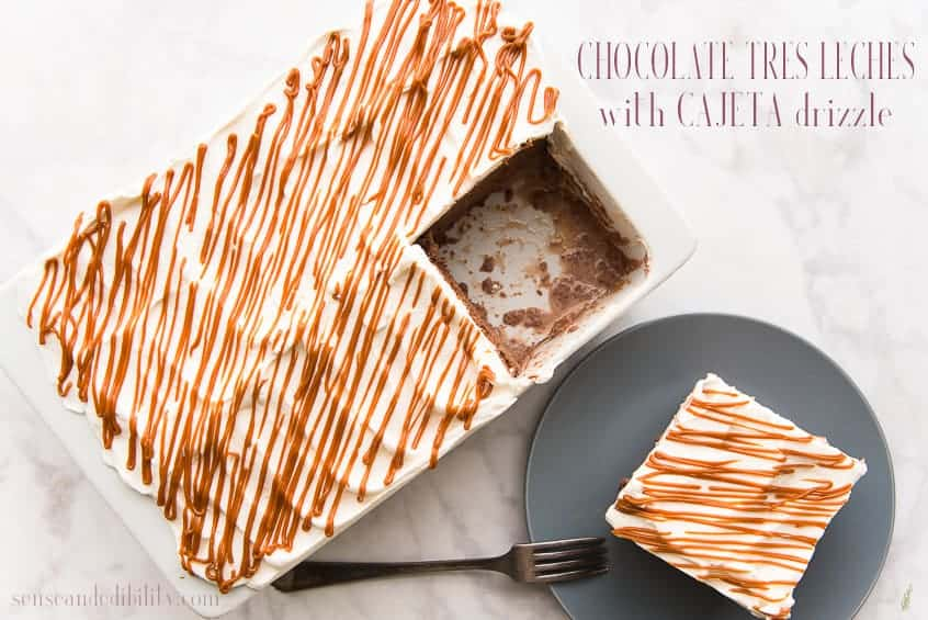 Tres Leches Chocolate Pin