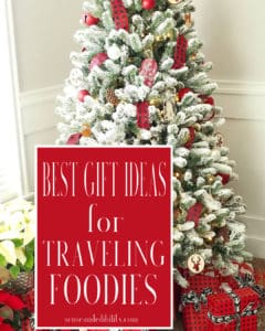 Best gifts for traveling foodies pin and lead