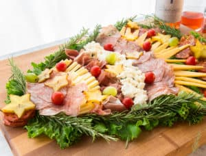 This Festive Charcuterie Board is easily customizable