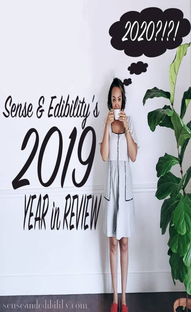 2019 Year in Review with me and a tree