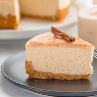 Coquito Cheesecake (Coconut Rum Cheesecake)