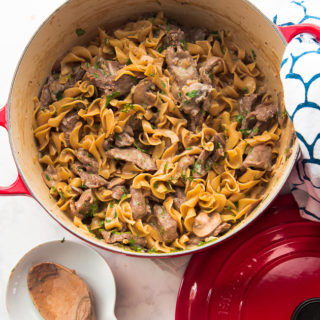 Beef Stroganoff: A One-Pot Recipe