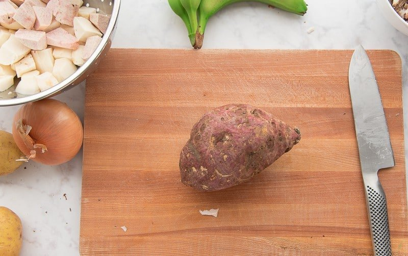 Batata is a white sweet potato