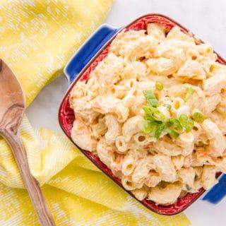 Macaroni Salad: Hawaiian Inspired