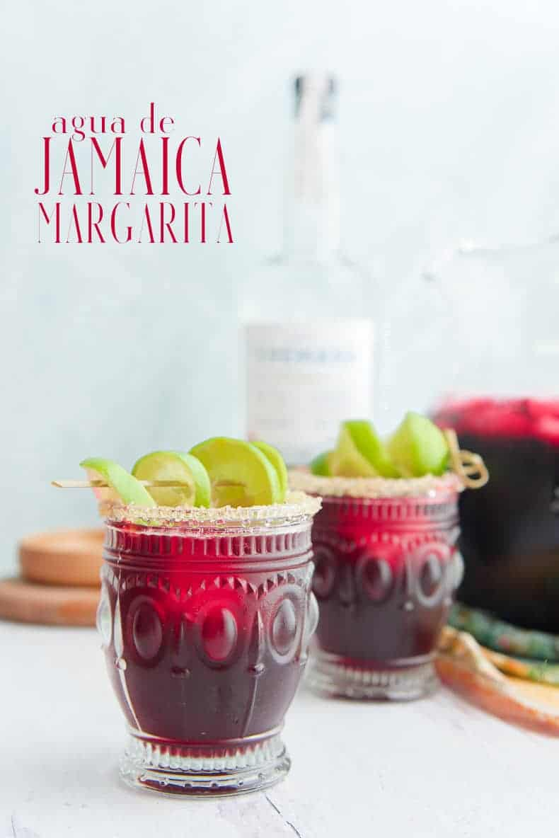 Jamaica Margaritas take the best of the classic margarita and give it a floral spin. High quality tequila blanco makes for the best cocktail. #tequilablanco #tequilacocktails #margarita #aguadejamaica #jamaicaaguafresca #cocktails #mixology #athomebartender #mixeddrinks #teremanatequila #teremana via @ediblesense