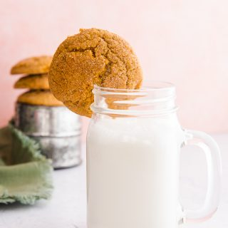 Soft Pumpkin Cookies with Cinnamon-Sugar Topping