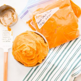 Sweet Potato Puree for Cooking and Baking