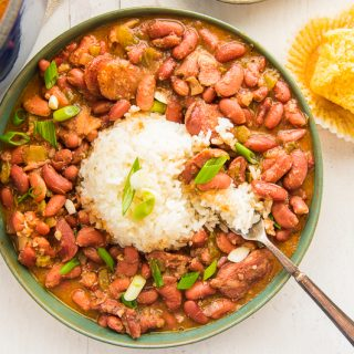 Creole Red Beans and Rice with Andouille Sausage