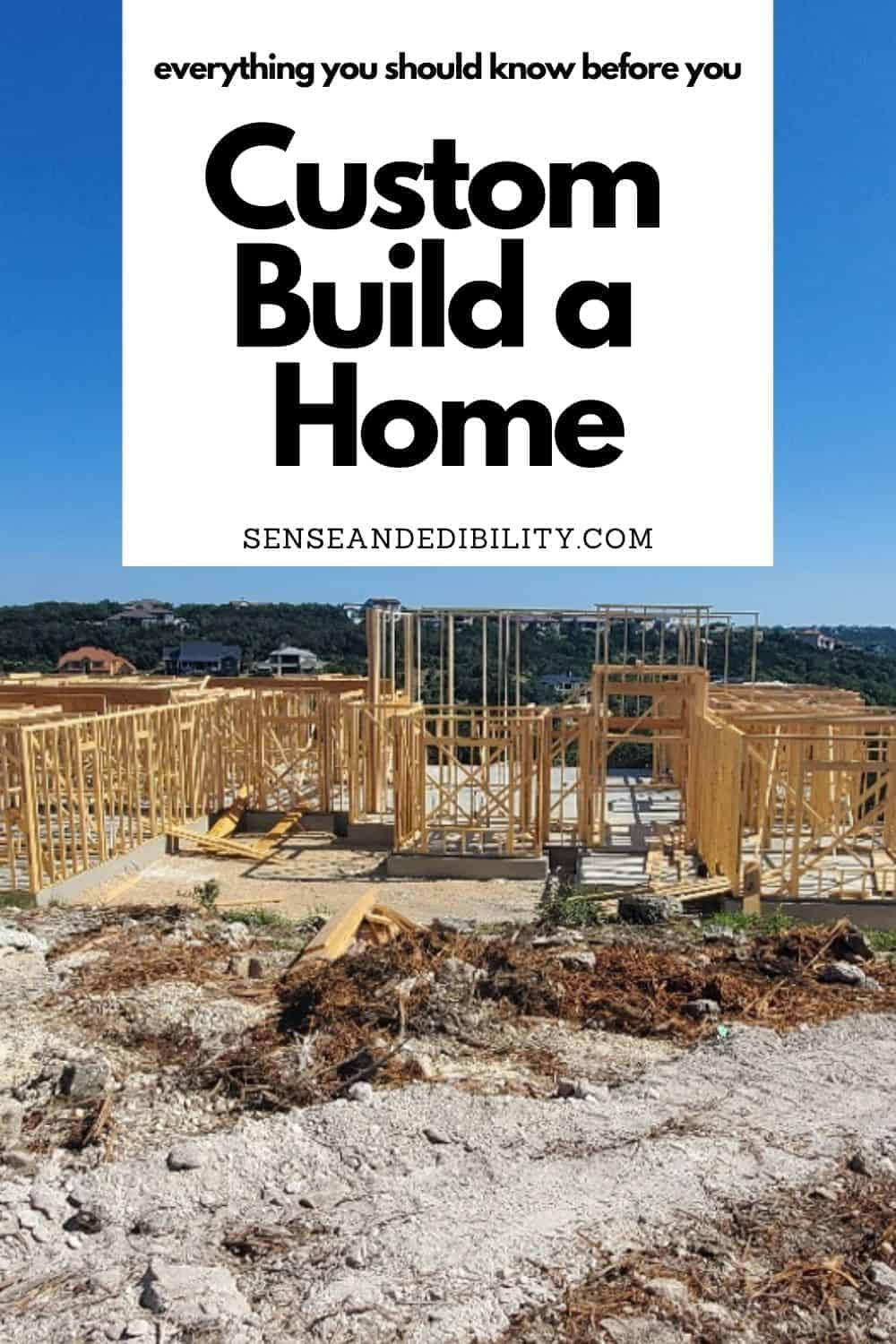 Does building a custom home sound like a great idea to you? It did to us as well. Here's our first-hand advice after our custom home build experience. #newhome #newhouse #custombuilthome #customhome #buildingahouse #realestate #realtor #mortgage #financingahome #newhomebuild #semicustomhome #vahomeloan #buildernightmare #newhomewoes #howtocustombuildahome #shouldIcustombuildahome #homebuildingadvice via @ediblesense