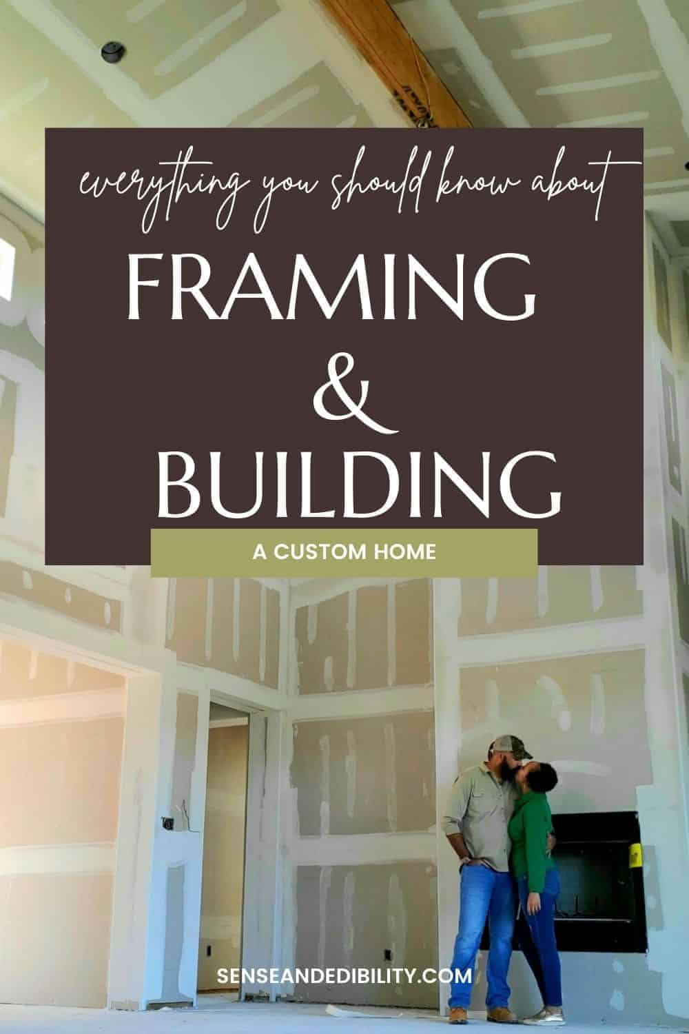 Framing and Building a custom home isn't as hands off for the owner as you may think. There are so many pitfalls to watch out for. Here are our tips for surviving the process. #customhomebuild #homebuild #buildingahome #customhome #customhomebuilders #homebuilders #thingstowatchoutfor #buyerbeware #framingandbuildingahome #framingahome #buildingahome #realestate #foreverhome #house #dreamhome #lessonslearned #projectmanagers #pouringfoundation #lifewithsenseandedibility via @ediblesense