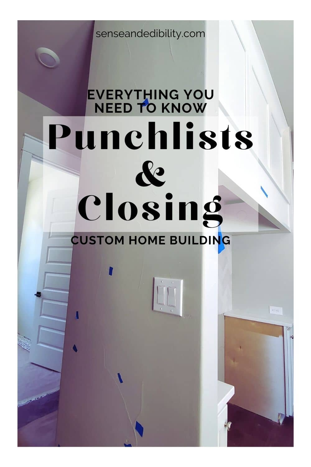 Punch Lists and Closing may be the most tedious part of your custom home build, but it's also one of the most important. Here's what you need to know about this part of the journey. #homebuild #homebuildseries #buildingacustomhome #customhome #realestate #homebuilder #build #home #foreverhome #buildingahouse #punchlists #closing  via @ediblesense