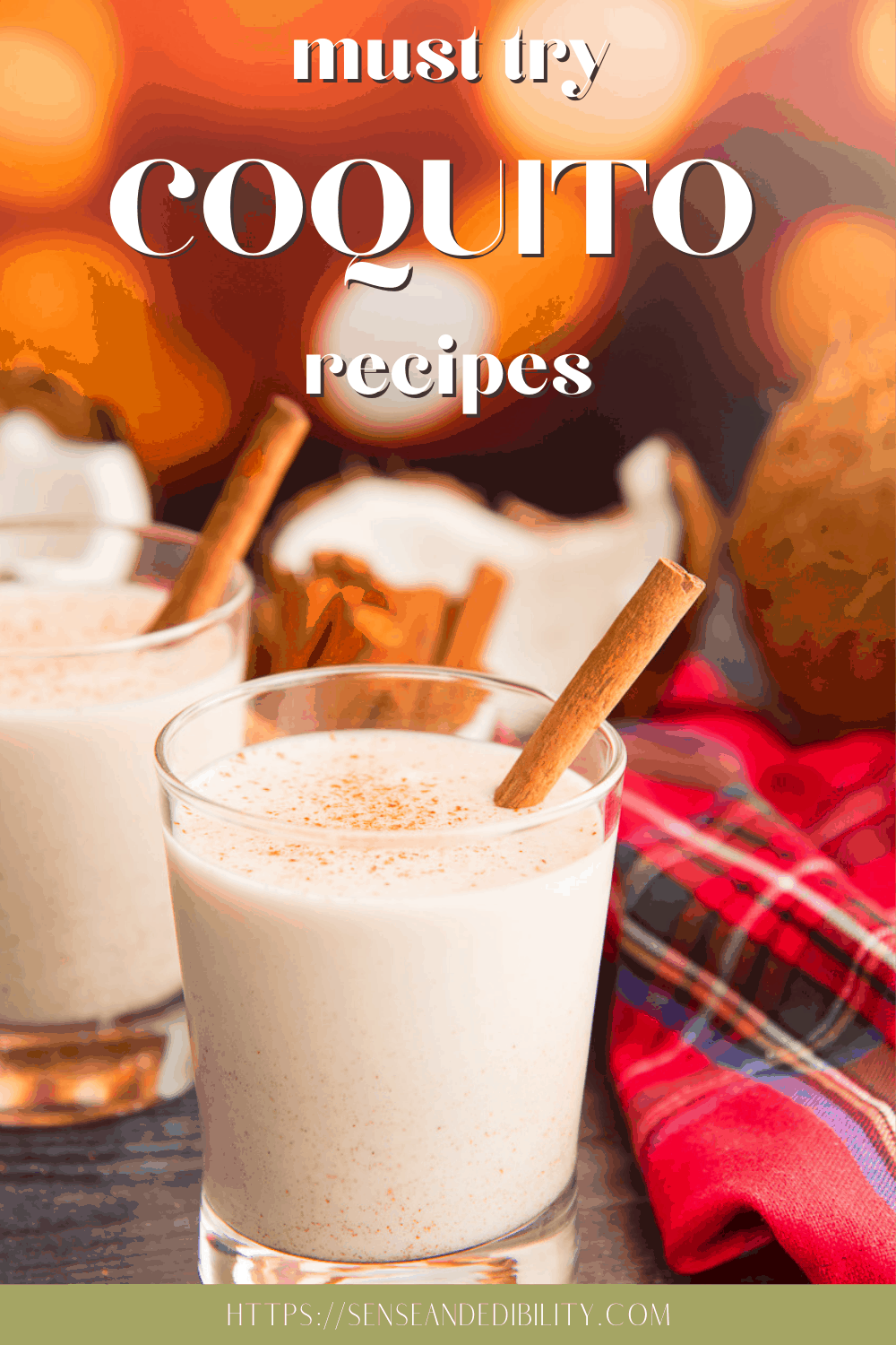Coquito doesn't have to be confined to a drinking glass. Check out these amazing coquito recipes for more ideas on how to incorporate this delicious Puerto Rican drink in your foods and drinks. #coquito #coquitorecipes #coquitorecipe #coquitopuertorriqueno #PuertoRicanrecipes #PuertoRicanholidaydrink #eggnog #ponche #holidaydrink #coconut #rumdrinks via @ediblesense