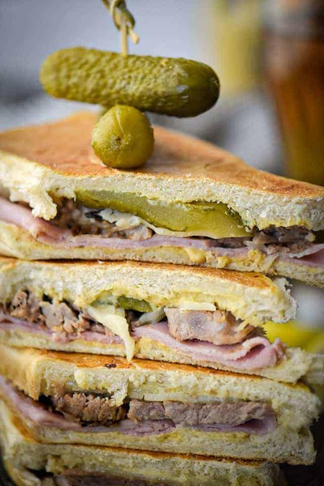 Cubano sandwich from Hungry Traveling Mama